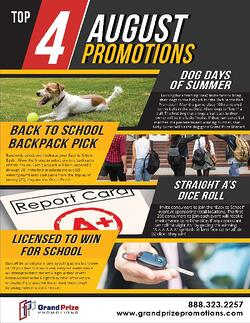 Home Page - August Promotions - Grand Prize Promotions