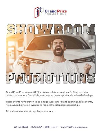 Auto Promotions Catalog Download - Grand Prize Promotions