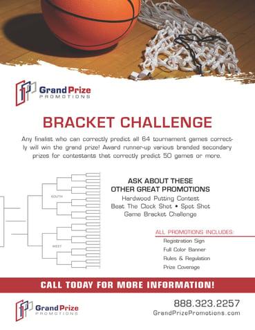 Bracket Prediction - Grand Prize Promotions