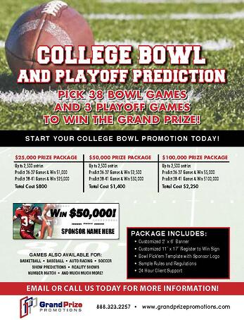 Football Predictions - Grand Prize Promotions