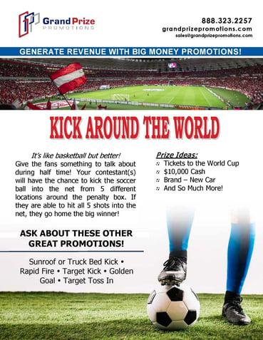 Kick Around The World   Grand Prize Promotions
