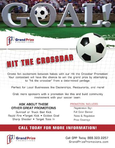 Hit The Crossbar - Grand Prize Promotions