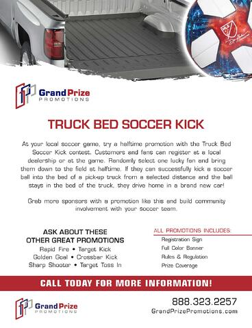 Truck Bed - Grand Prize Promotions