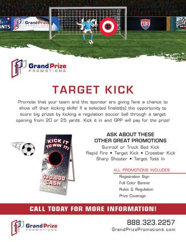 Target Kick - Grand Prize Promotions
