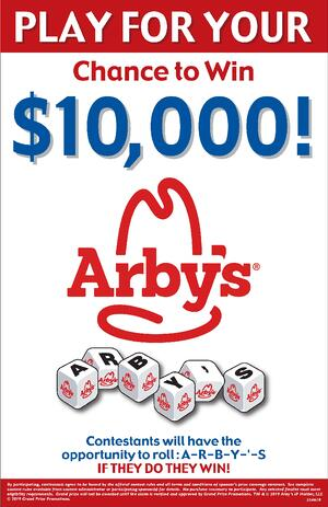 Arby's Promotion