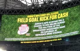 field goal kick for cash Atlanta