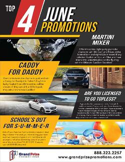 Home Page - June Promotions - Grand Prize Promotions
