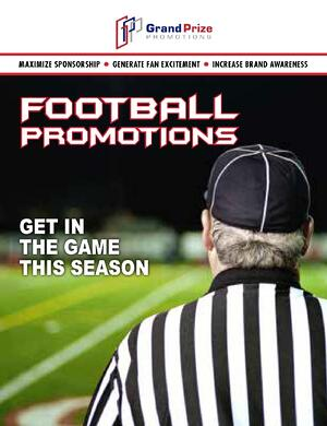 GPP Football Promotions Catalog - Grand Prize Promotions