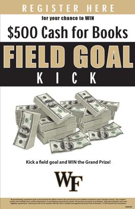 WF FGoal Kick Sign