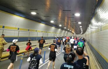 T2T Race inside tunnel