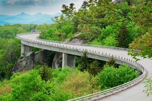 Blue Ridge Parkway - Where To Take Your Bike Blog - Grand Prize Promotions