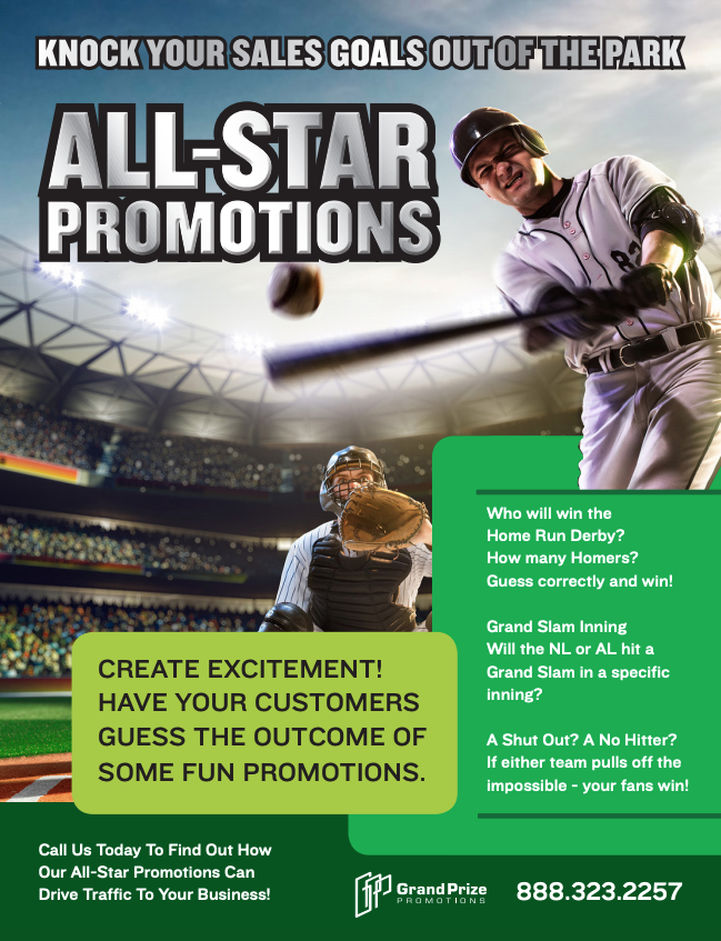 all-star baseball promotions