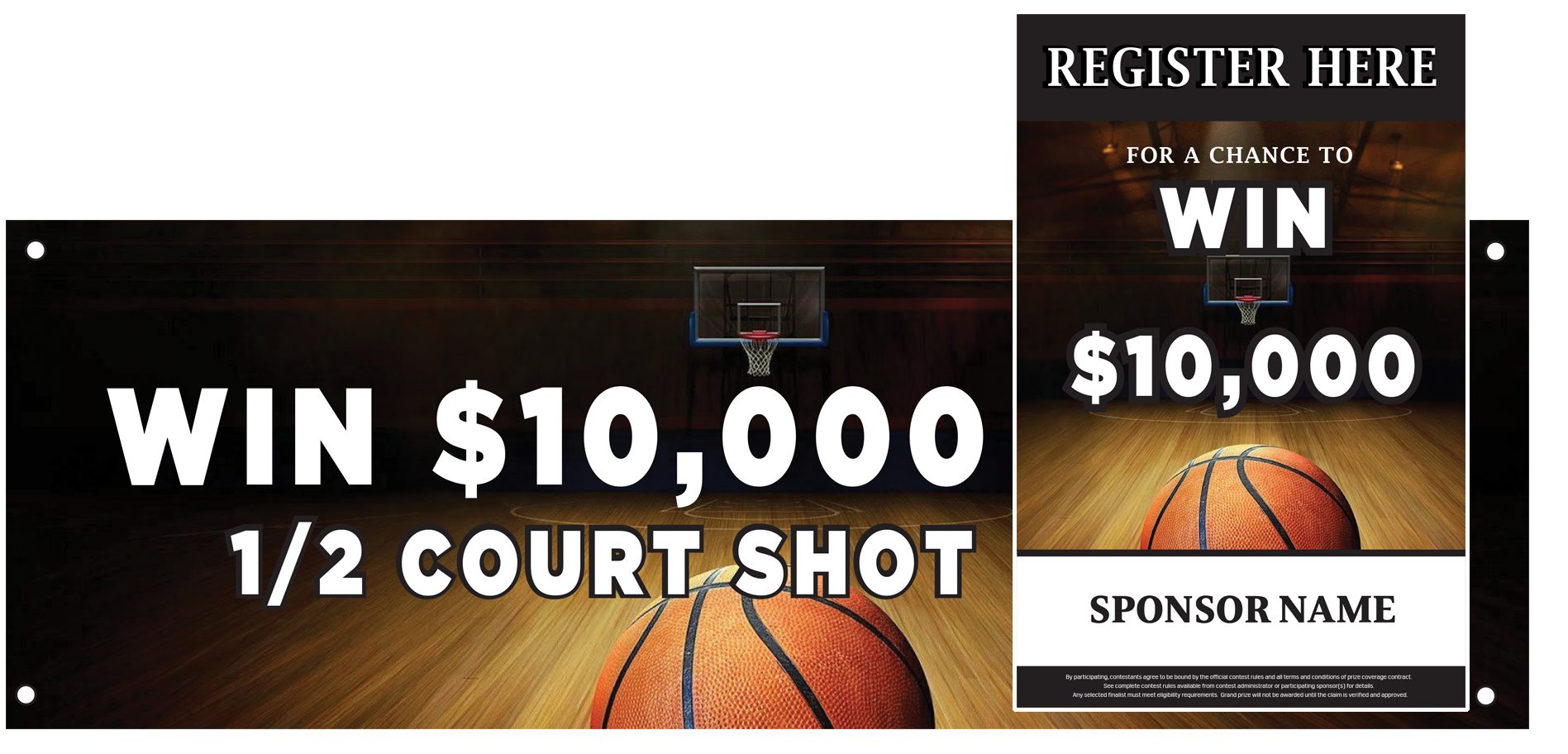 Half Court Shot - Grand Prize Promotions
