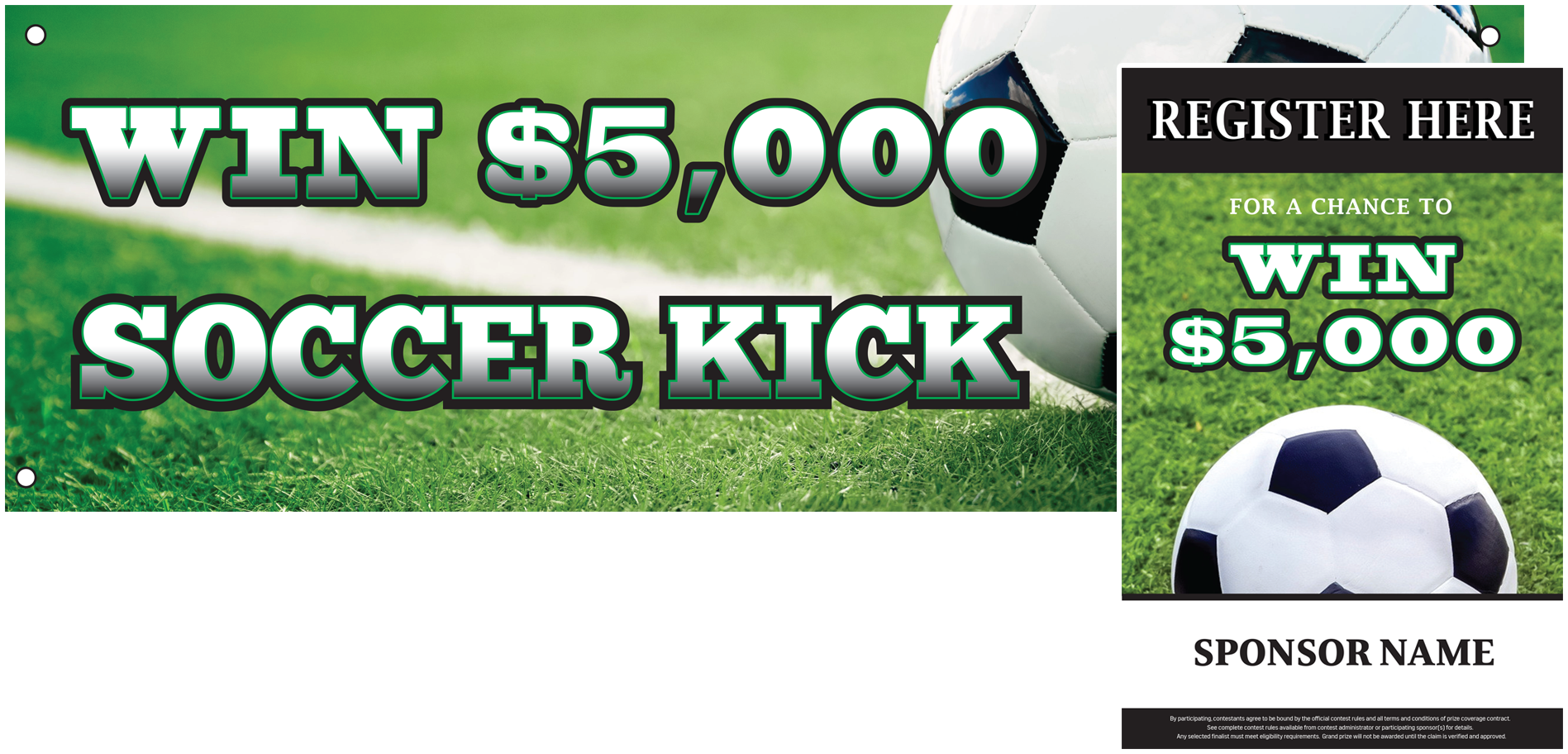 Truck Bed Soccer Kick - Grand Prize Promotions